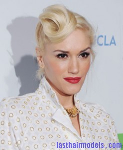 1209 gwen stefani hair hair french twist front bd 247x300 1209 gwen stefani hair hair french twist front bd