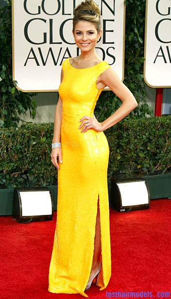 169913 ca 0115 goldenglobes kdm 013 Maria Menounos's bun in style: A halo of radiance!