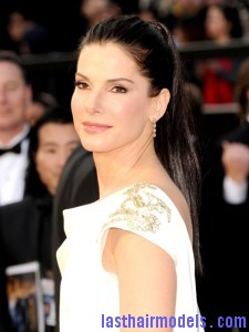 2012 Oscars Hairstyles Sandra Bullock 225x300 2012 Oscars Hairstyles Sandra Bullock