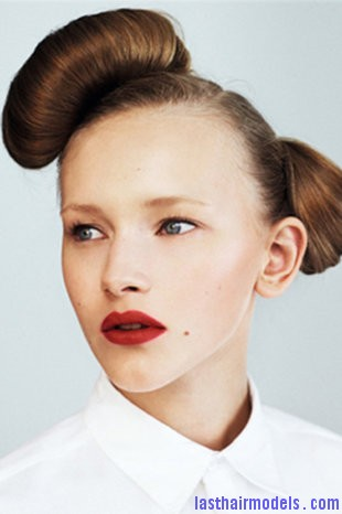 470 2275816 Double buns: Chinese 'ox horns' hairstyle.