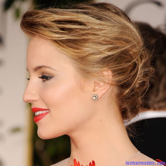9ca5536c90beaeb0 Untitled 1.xxxlarge 0 Diana Agron's elegantly styled updo with a ponytail: Sheer redness on red carpet!!