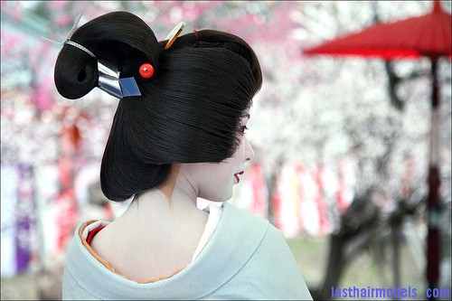 Amazing Traditional Hairstyle Trend Traditional Chinese hairstyles.