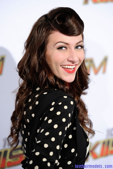 Amy+Heidemann+KIIS+FM+Jingle+Ball+2011+Arrivals+K P on3Zg Ul Amy Heidemann's retro cone updo: Retro works!!