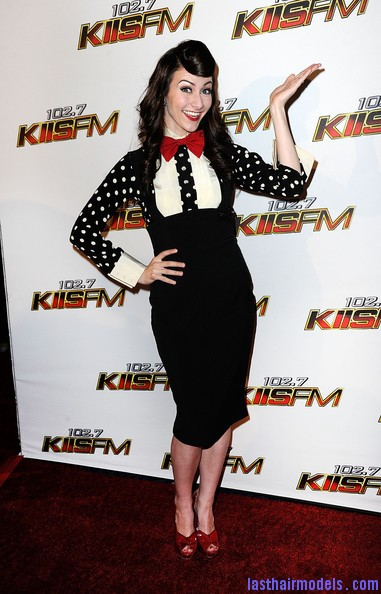 Amy+Heidemann+KIIS+FM+Jingle+Ball+2011+Arrivals+WtG 5NdzMzQl Amy Heidemann's retro cone updo: Retro works!!