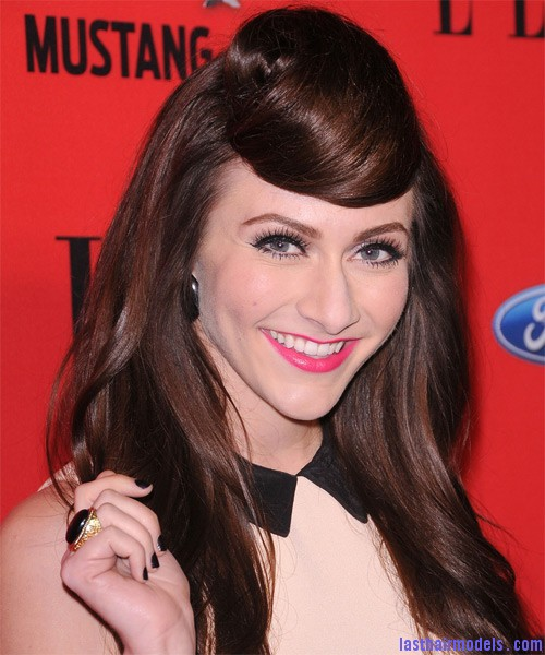 Amy Heidemann 1 Amy Heidemann's retro cone updo: Retro works!!