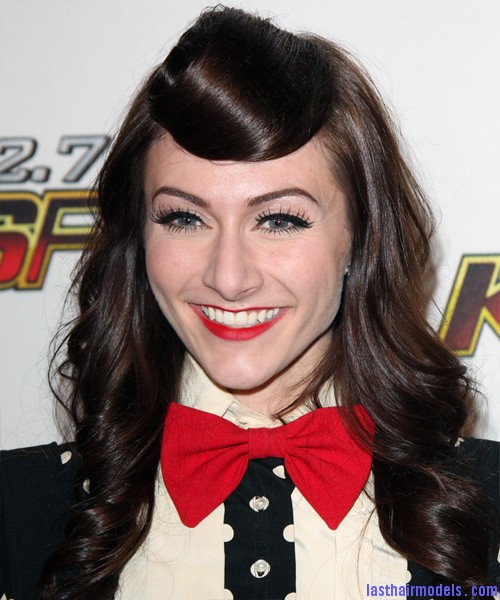 Amy Heidemann Amy Heidemann's retro cone updo: Retro works!!