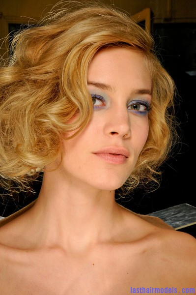 Azzaro+Fall+2012+Backstage+WkX5x6KnDNLl Messy curly short bob at Azura fall 2012.