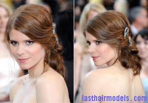 Bridal hairstyle Inspired Kate Mara1 300x209 Bridal hairstyle Inspired Kate Mara1