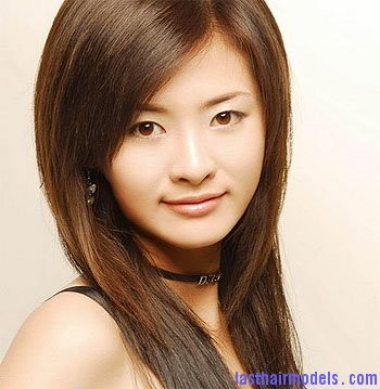 Chinese Hairstyles Modern Chinese hairstyles for women.