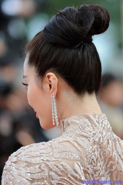 Fan+Bingbing+Mystery+Premiere+65th+Annual+21N CZr39 Yl Fan Bing Bing's bow shaped updo: Combining moderancy with tradition.