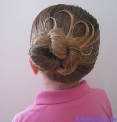 IMG 7447 fancy bun hairstyleH 380x446 Coiled bun.
