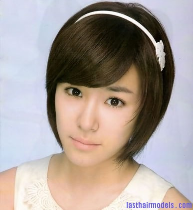 Japanese and Korean actress Summer fashion short hair 8 Modern Chinese hairstyles for women.
