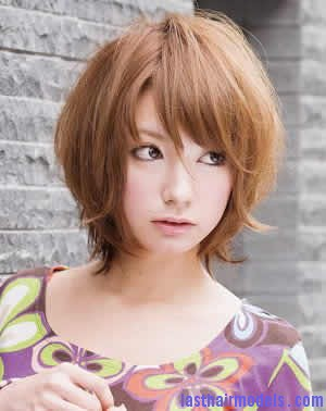Japanese short hairstyle4 Modern Chinese hairstyles for women.