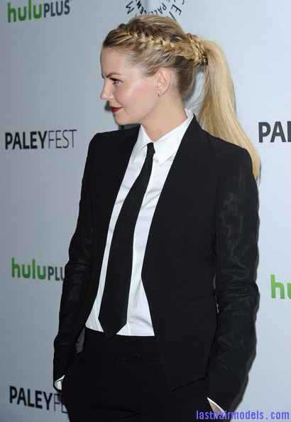 Jennifer+Morrison+Once+Upon+Time+PaleyFest+TEZePcZ2c1cl Jennifer Morrison's braided ponytail: androgynous look with a dash of feminity!!