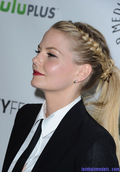 Jennifer+Morrison+Once+Upon+Time+PaleyFest+drC1jTXlJhIl Jennifer Morrison's braided ponytail: androgynous look with a dash of feminity!!