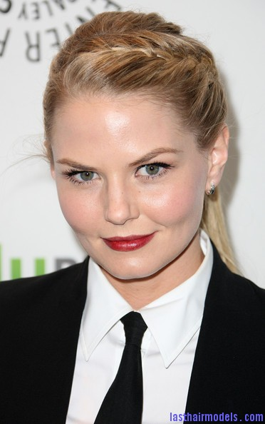 Jennifer+Morrison+Paley+Center+Media+PaleyFest+pb1E7nrJtlXl Jennifer Morrison's braided ponytail: androgynous look with a dash of feminity!!