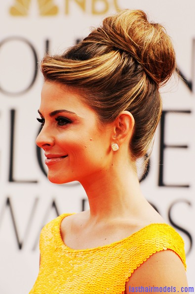 Maria+Menounos+69th+Annual+Golden+Globe+Awards+ZXIX98Z K 2l 1 Maria Menounos's bun in style: A halo of radiance!