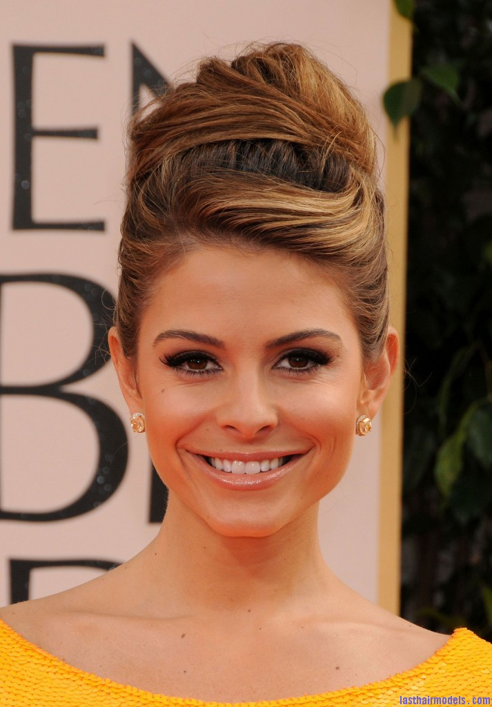 Maria Menounos at 69th Annual Golden Globe Awards in Los Angeles 8 713x1024 Maria Menounos's bun in style: A halo of radiance!