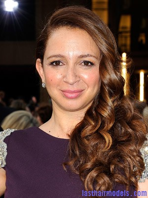 Maya Rudolph+Feb 26 2012 Maya Rudolph's side curls: Making a statement of their own.