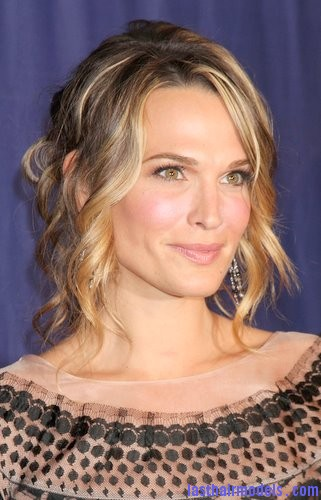 Molly Sims Tendril twist bun.