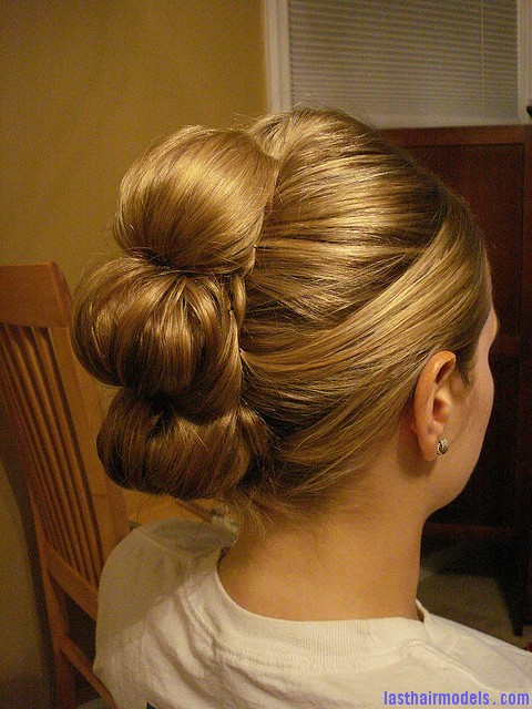 Most Beautiful Updo Wedding Hairstyle 8 Tall buns.