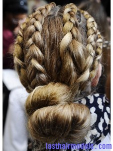 Multiple braid bun 225x300 Multiple braid bun