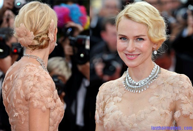 Naomi Watts Marchesa Naomi watts flowered ballerina: Curly messy tiny!