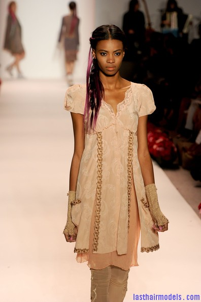 Odd+Molly+Runway+Spring+2011+MBFW+afVfWh6ECM l Messy braids with funky hair extensions.