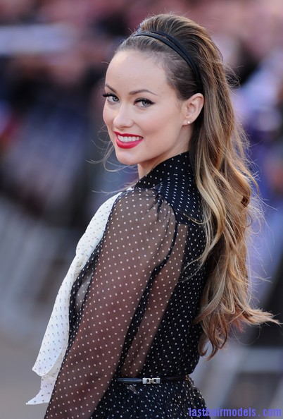 Olivia+Wilde+Long+Hairstyles+Teased+R1I8fz2rUHvl Olivia Wilde's wavy hairstyle with headband.