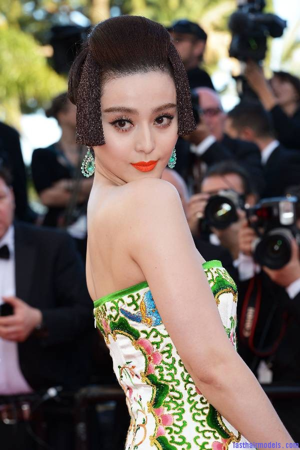 Fan Bing Bing S Traditional Chinese Hairstyle At Cannes