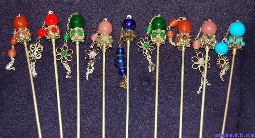 SilverBallHairpins  33954 zoom Chinese hair accessories: Plenty to choose from!