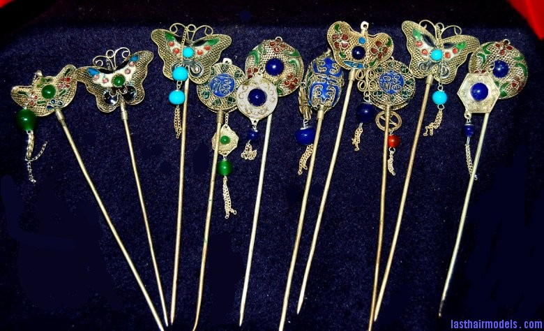 SilverHairpins Chinese hair accessories: Plenty to choose from!