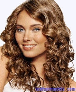 Spiral Perm Hairstyles Natural Botticelli curls.
