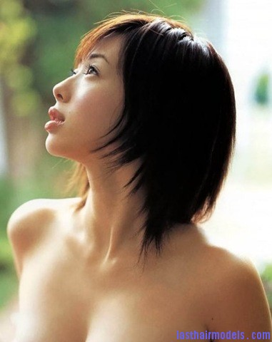 asian short hairstyle Modern Chinese hairstyles for women.