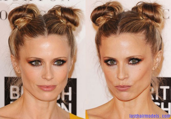 c80bc93081e6b2d1 Laura Double buns: Chinese 'ox horns' hairstyle.