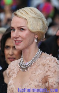 cannes 2012 naomi watts fingerwave updo 193x300 Madagascar 3: Europes Most Wanted film premiere, 65th Cannes Film Festival, France   18 May 2012