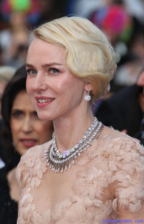 cannes 2012 naomi watts fingerwave updo Naomi watts flowered ballerina: Curly messy tiny!