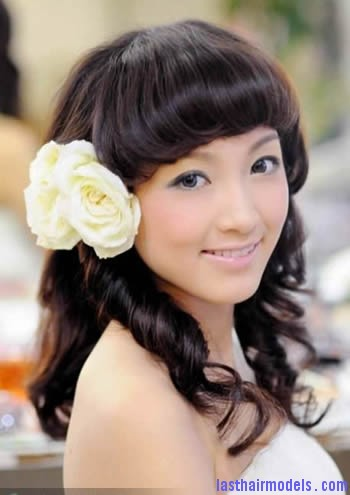 elegant chinese wedding hairstyles 1 Modern Chinese hairstyles for women.