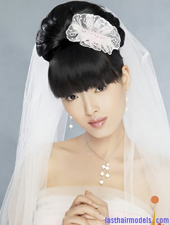 elegant chinese wedding hairstyles 2 Modern Chinese hairstyles for women.