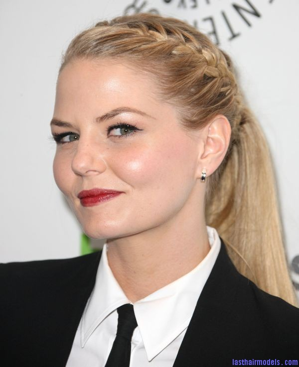 jennifer morrison picture 1612612639 Jennifer Morrison's braided ponytail: androgynous look with a dash of feminity!!