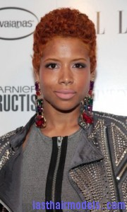 kelis 180x300 TWA Hairstyle