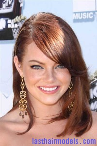 long hairstyles with side bangs for women 200x300 Ultra Long side bangs.