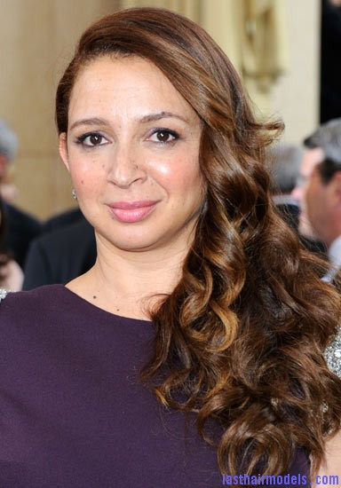 maya rudolph Maya Rudolph's side curls: Making a statement of their own.