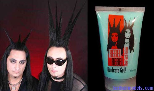 merchandise rebelrebelhairgel Hair gels.
