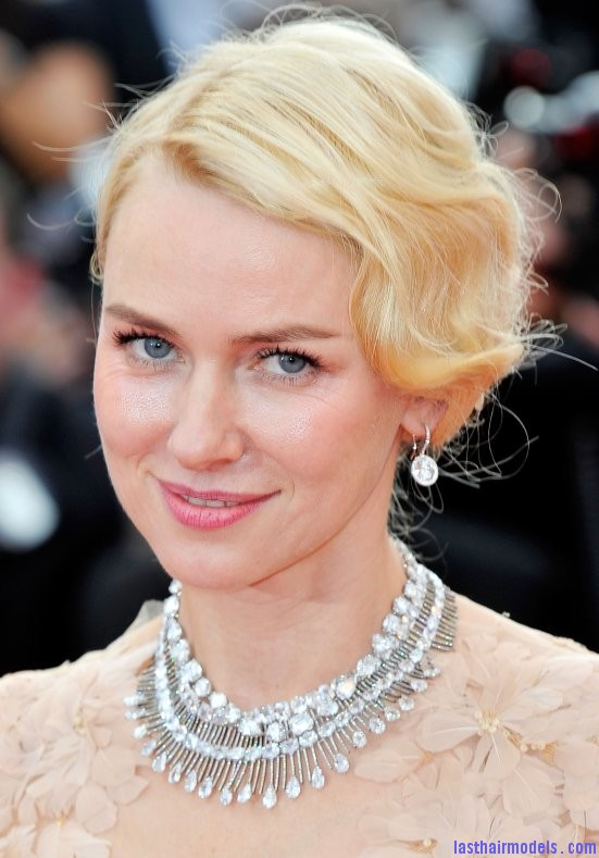Naomi watts flowered ballerina: Curly messy tiny!