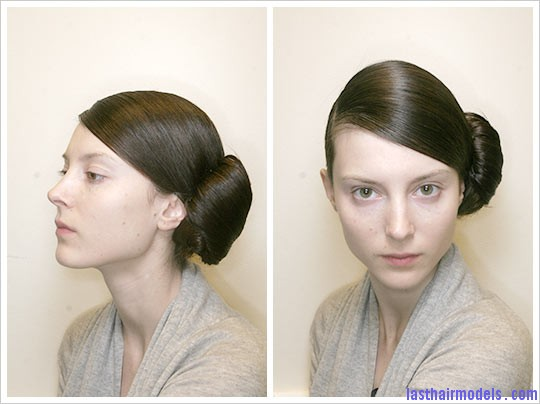 reem acra 2 up Side bun.