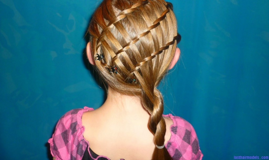 The Basket Weave Braid Hairstyle Too Cute And Too Much Fun Last