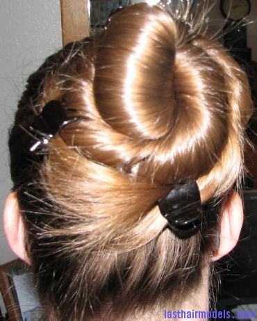 upstylebld16 Coiled bun.