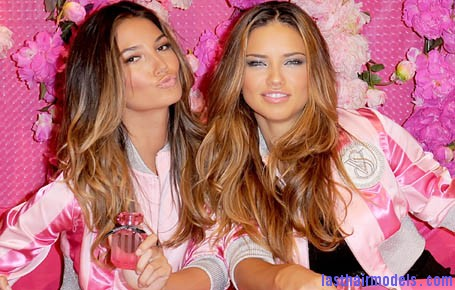 Victoria secret hair styling