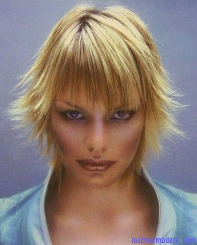 2003 blonde flicks The perfect Razorcut.